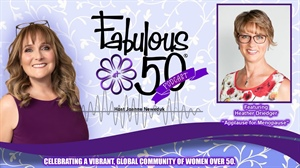 Heather Driedger: Applause for Menopause - Ep. 26 Fabulous at 50